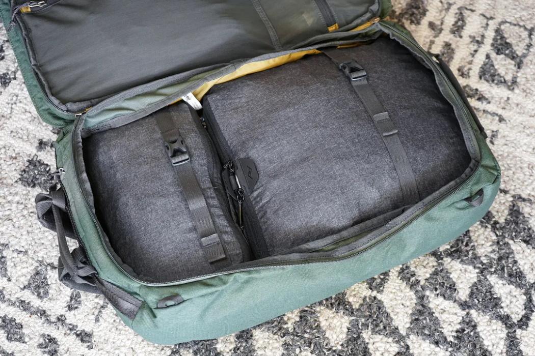 Cubos en mochila