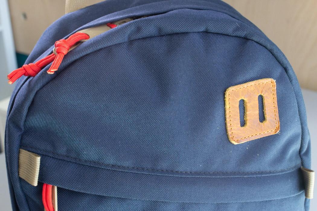 Nylon Cordura 1000D en Mochila Topo Designs Daypack