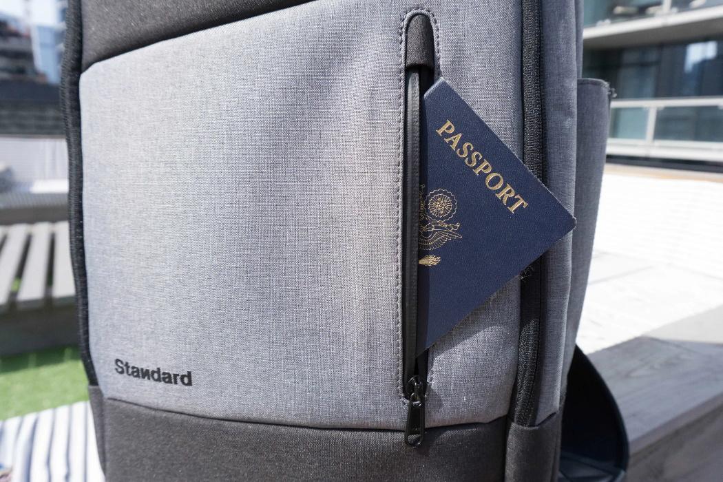 Bolsillo Exterior Mochila Standard Luggage Co. Daily Backpack