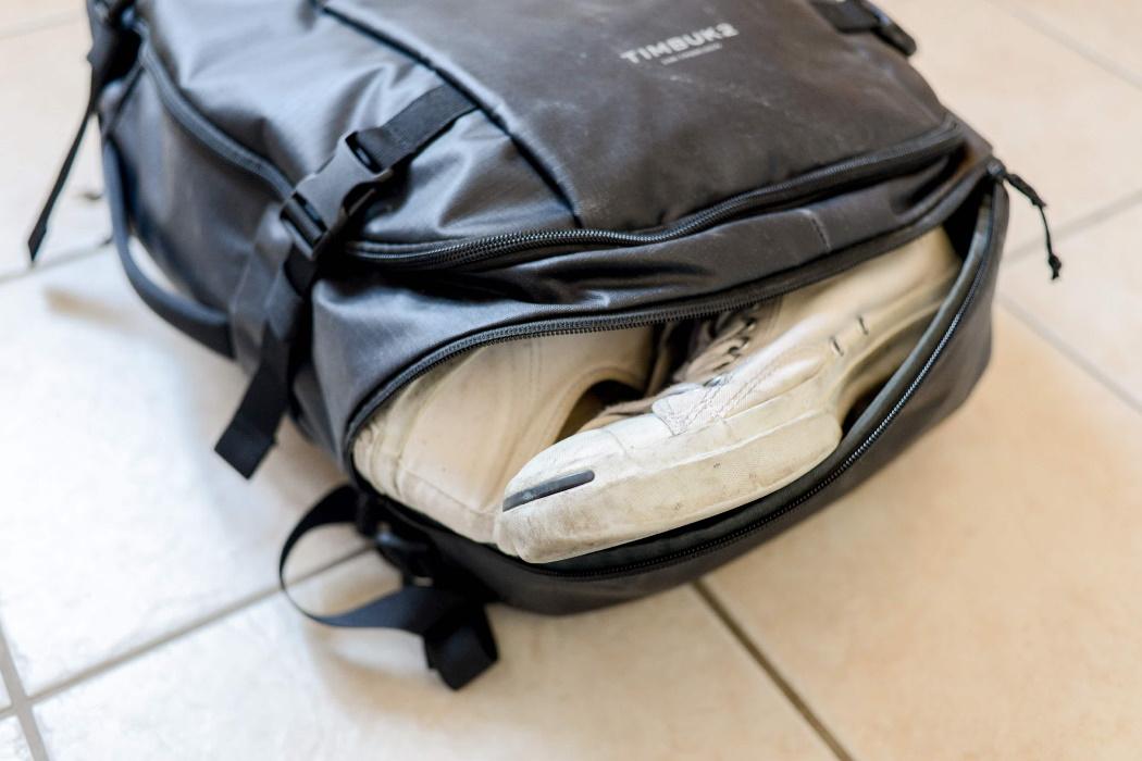 Lista de Viaje Compartimento para Calzado Mochila Timbuk2 Wander Pack