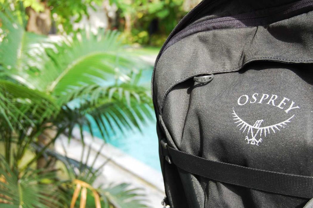 Lista de Viaje Mochila de Viaje Osprey Fairview 40