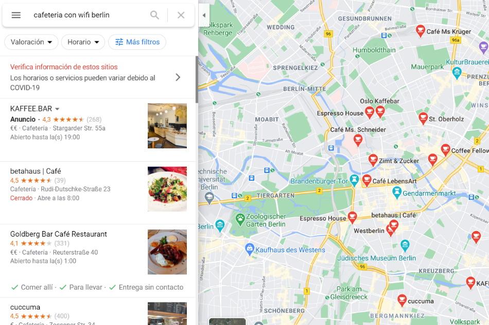 Trabajar a Distancia Utilizando Google Maps