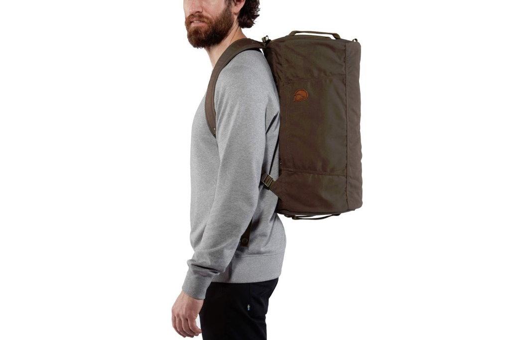 bolsa de viaje fjallraven splitpack espalda