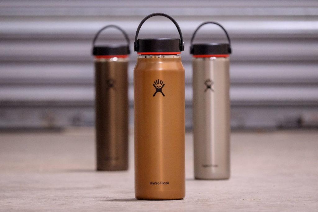 botella de agua hydro flask lightweight wide mouth trail series reseña