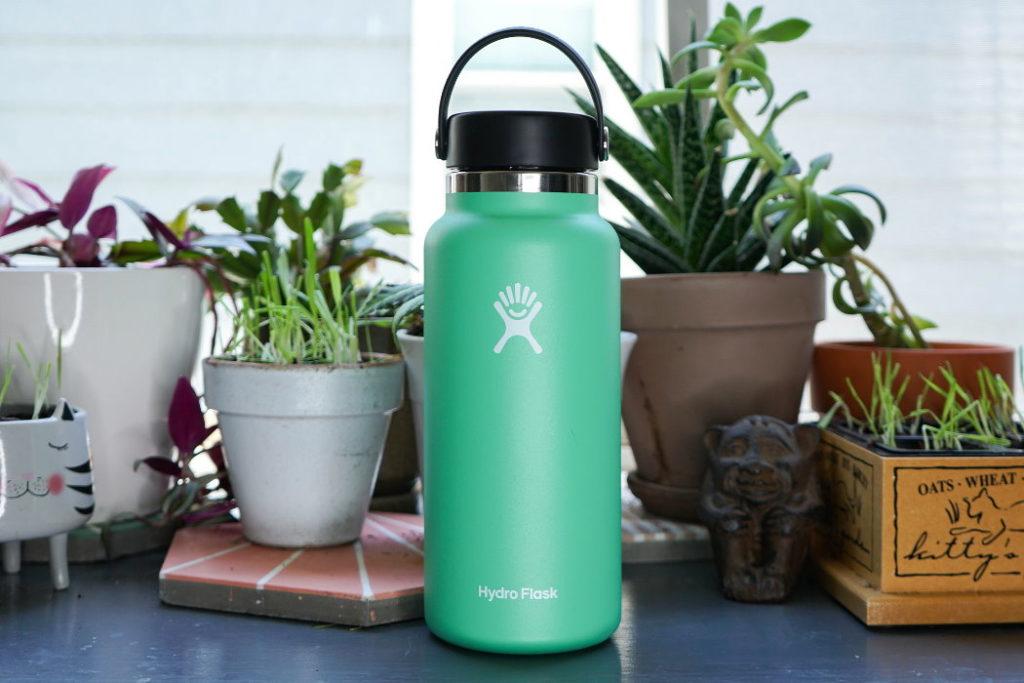 botella hydro flask wide mouth 32 oz reseña