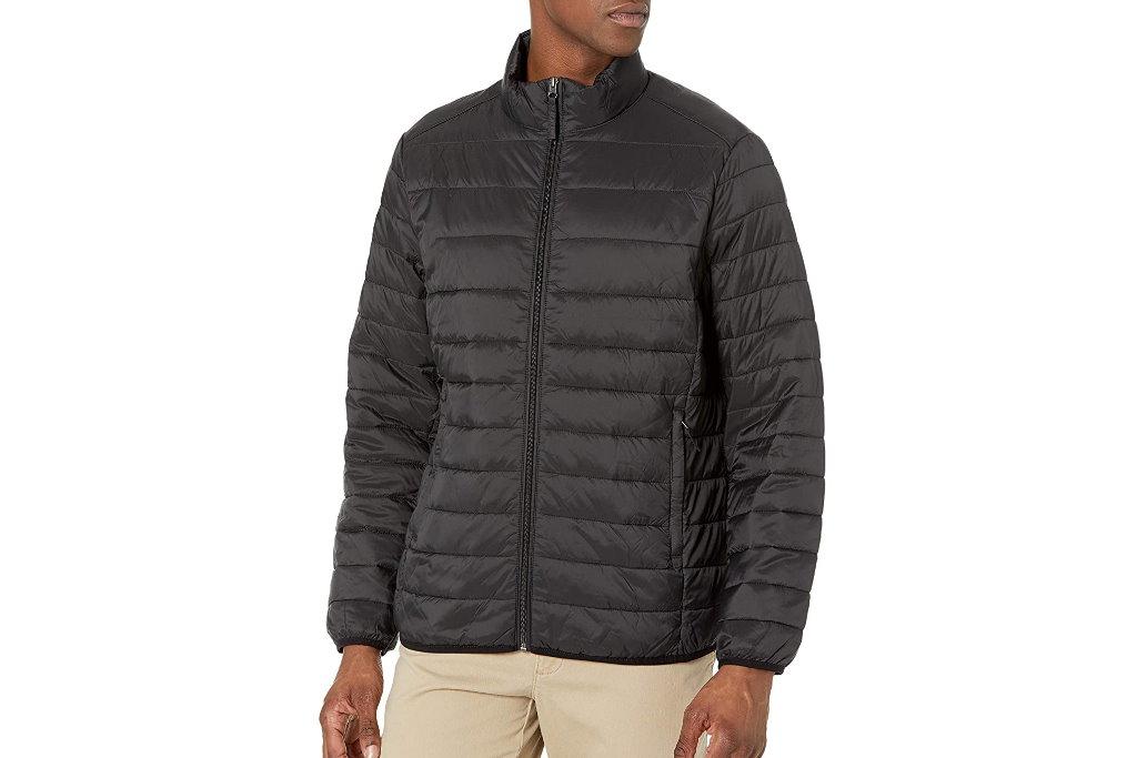chaqueta plegable y resistente al agua amazon essentials reseña