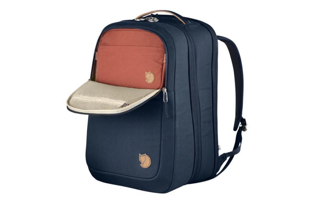 mochila de viaje fjallraven bolsillos