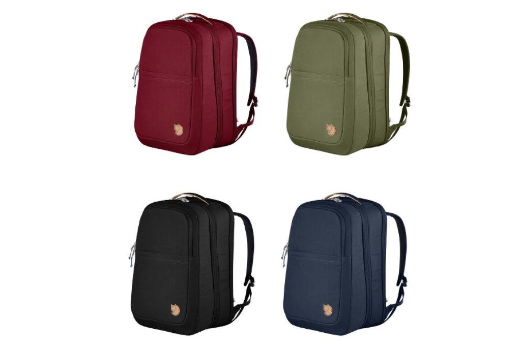 mochila de viaje fjallraven colores