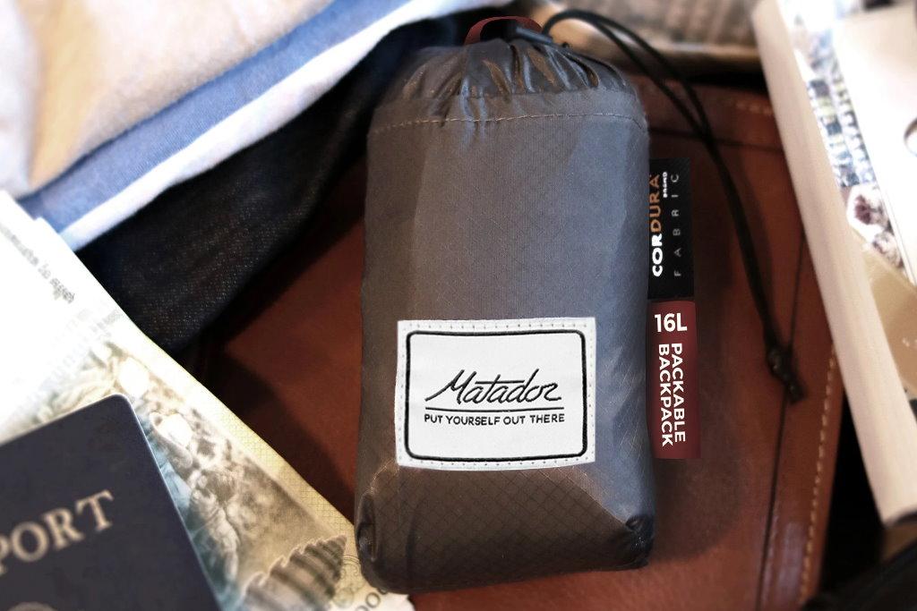 mochila matador dl16 packable daypack daylite comprimida