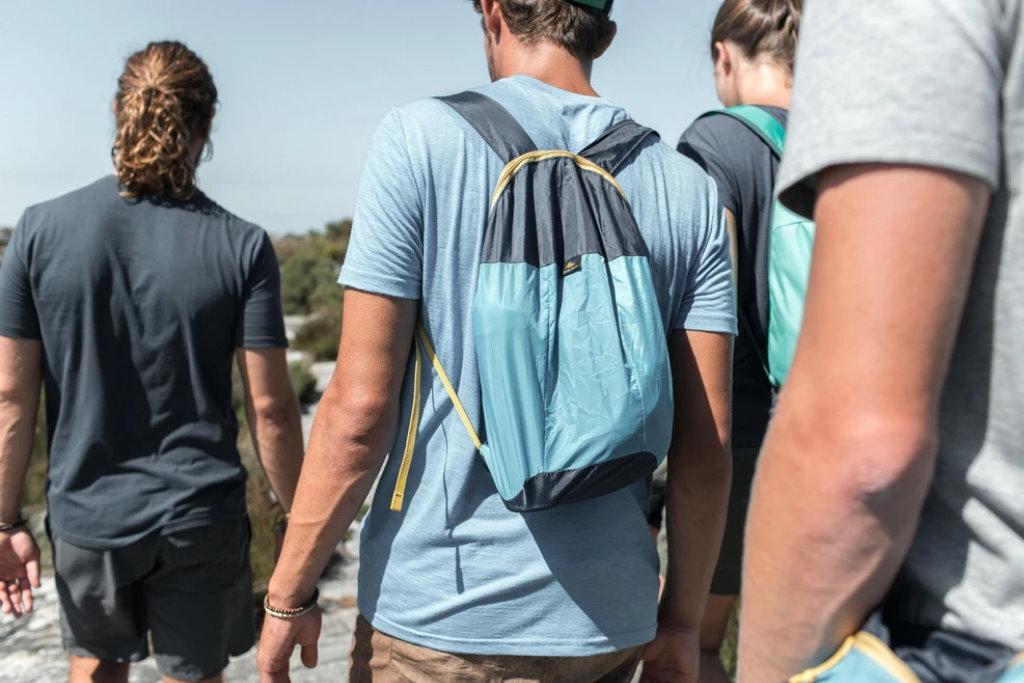 mochila plegable ultracompacta quechua viaje