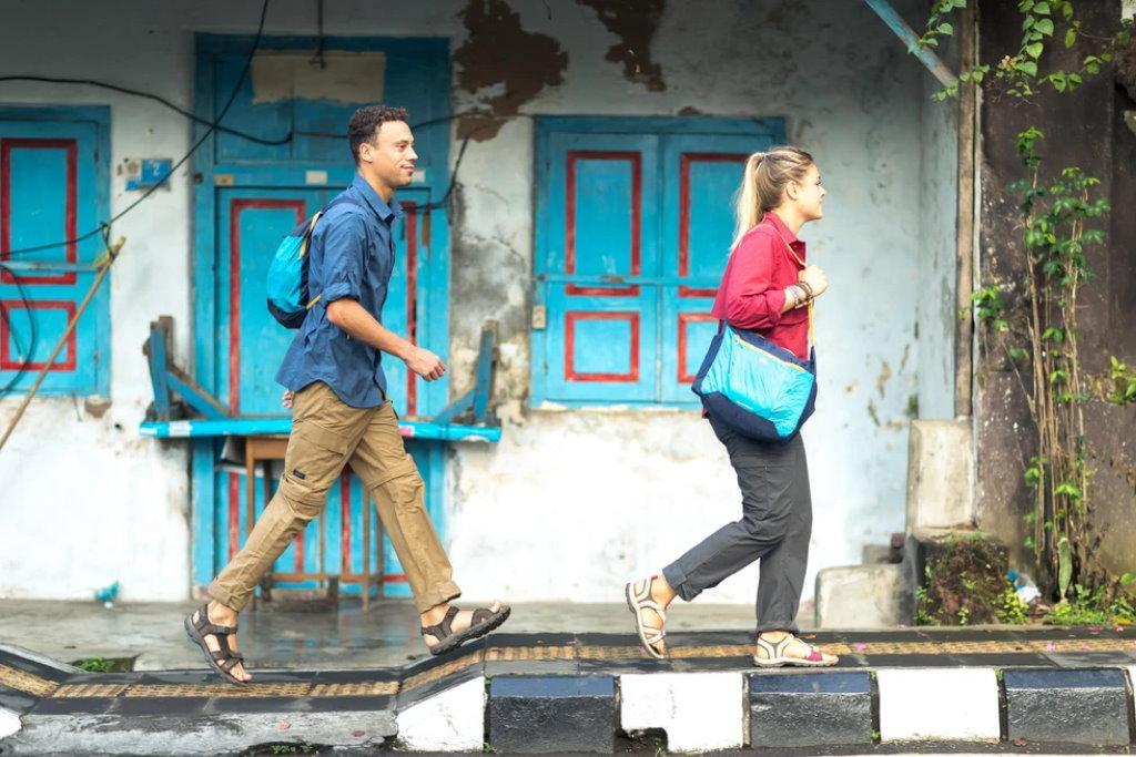 mochila plegable ultracompacta quechua viajes