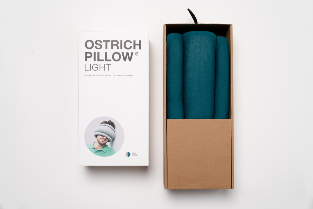 packaging ostrichpillow light abierto