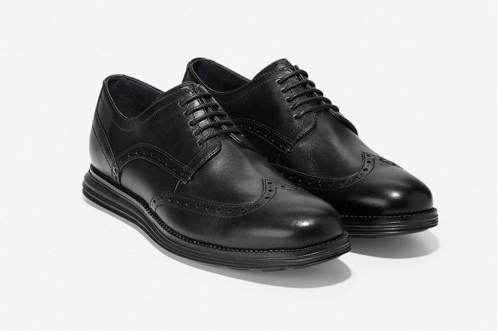 zapatos cole haan original grand wingtip oxford aspecto