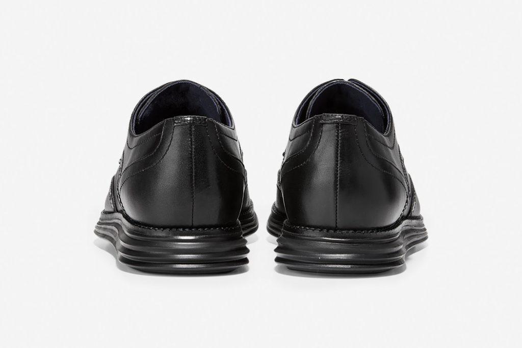 zapatos cole haan original grand wingtip oxford parte trasera