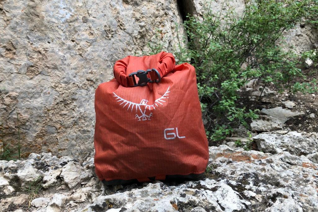 bolsa impermeable osprey ultralight dry sack 6L reseña