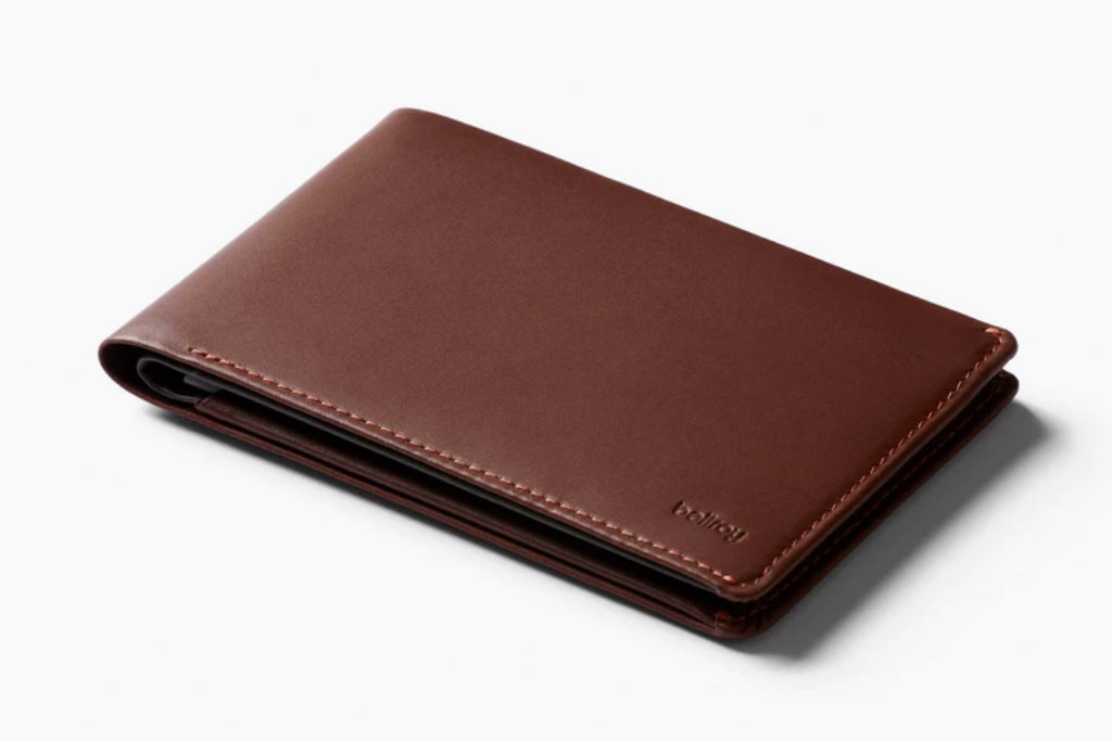cartera de viaje bellroy travel wallet marron