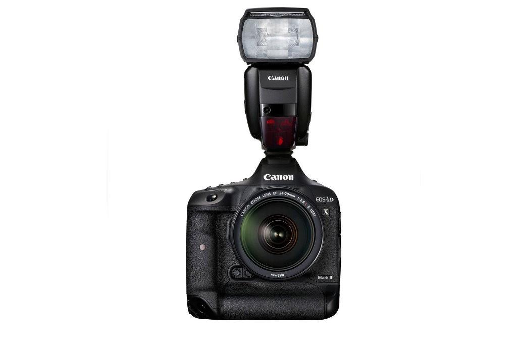 flash canon speedlite 600ex ii rt acoplado