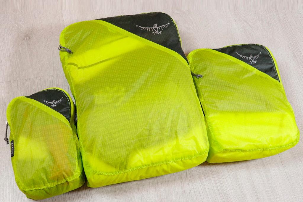 organizadores de maleta osprey ultralight set reseña