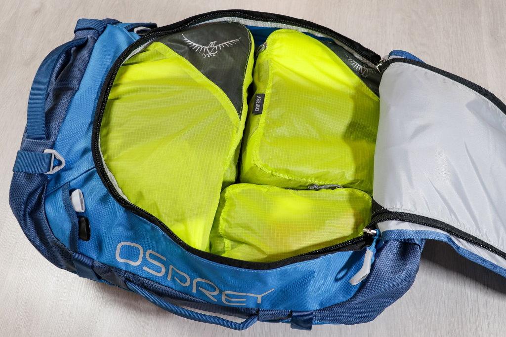 organizadores de maleta osprey ultralight set viaje
