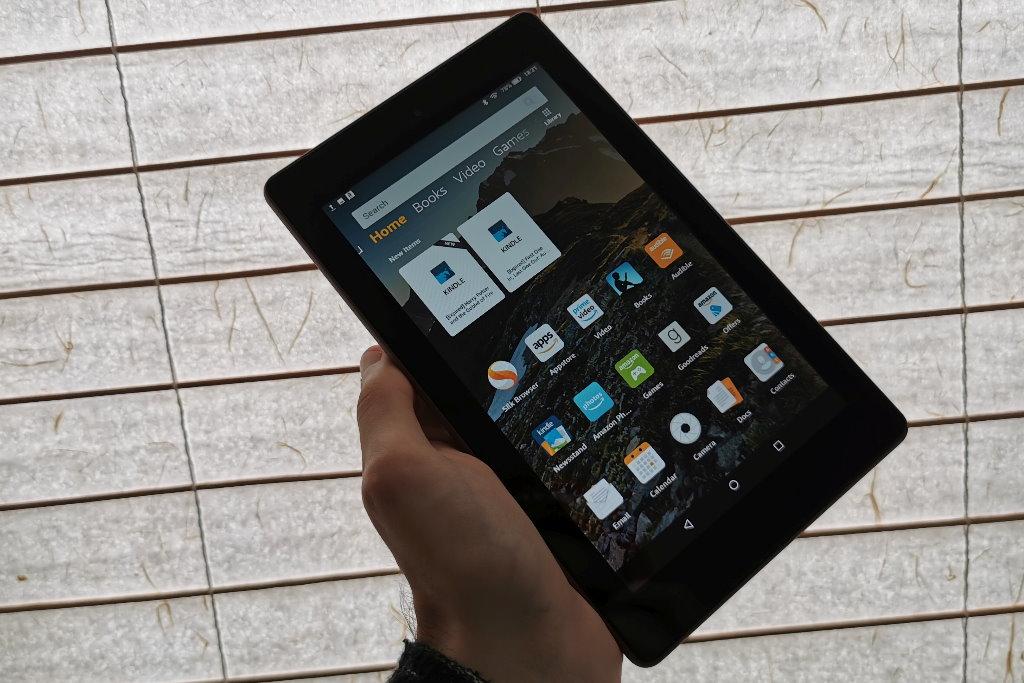 tablet amazon fire 7 reseña