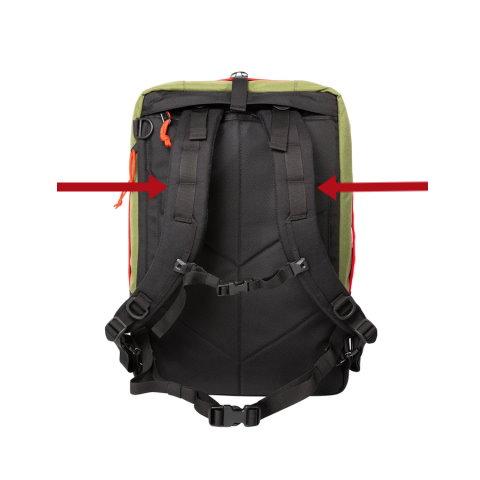 correas de los hombros mochilas