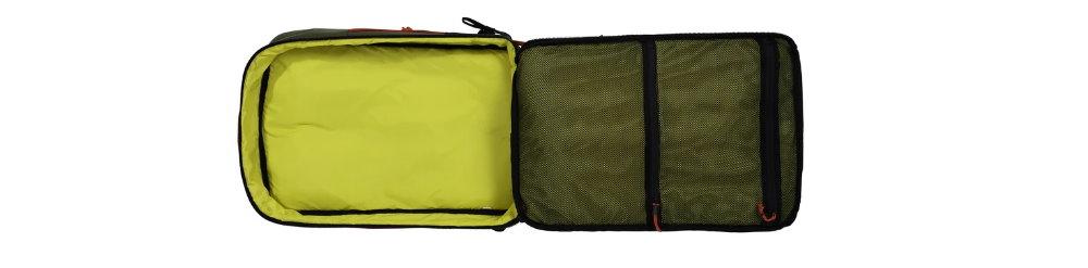 espacio interior mochilas