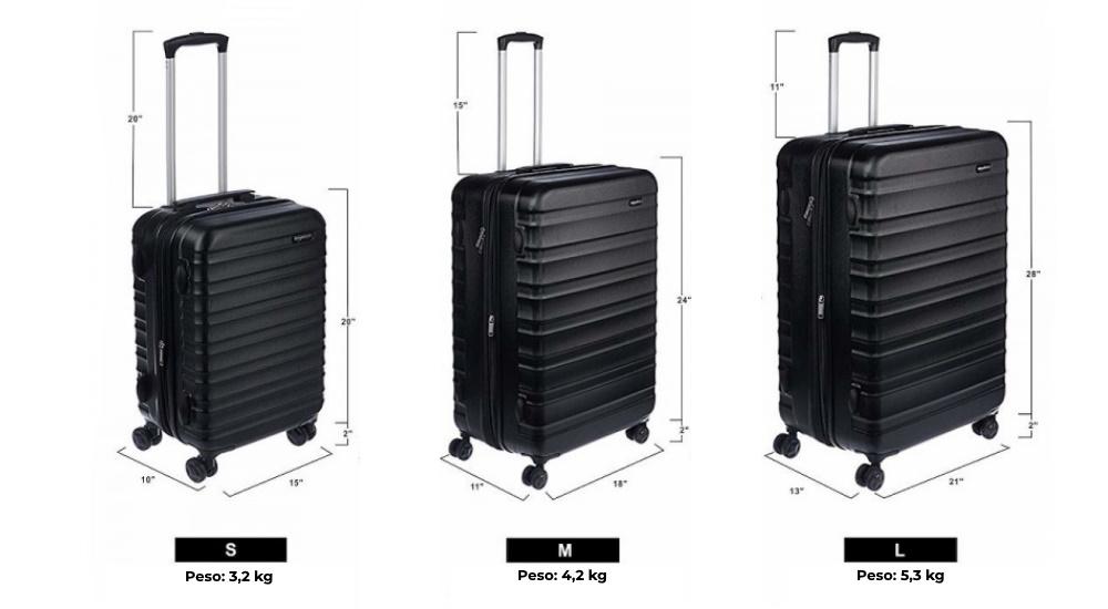 medidas maleta avion