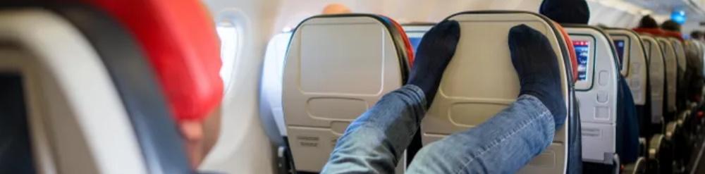 ser civico en el avion