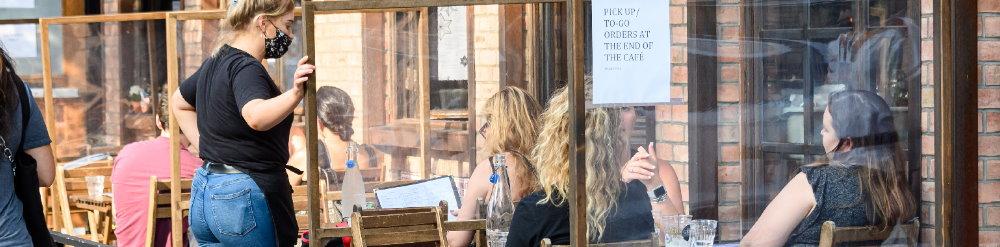 distanciamiento social restaurantes covid