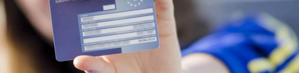 solicitud de tarjeta sanitaria europea
