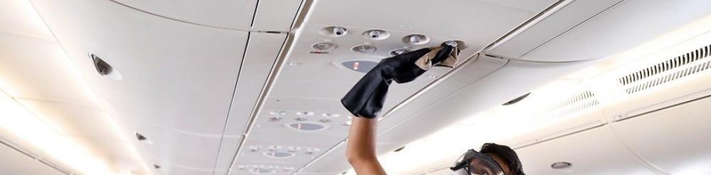 proceso desinfeccion aviones covid 19