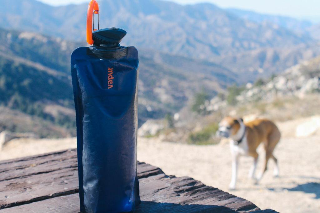 botella de agua vapur eclipse viaje