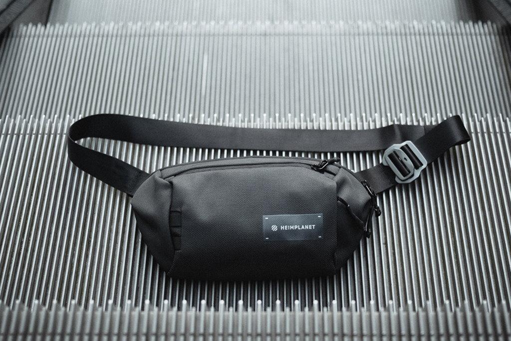riñonera heimplanet transit line sling pocket XL reseña