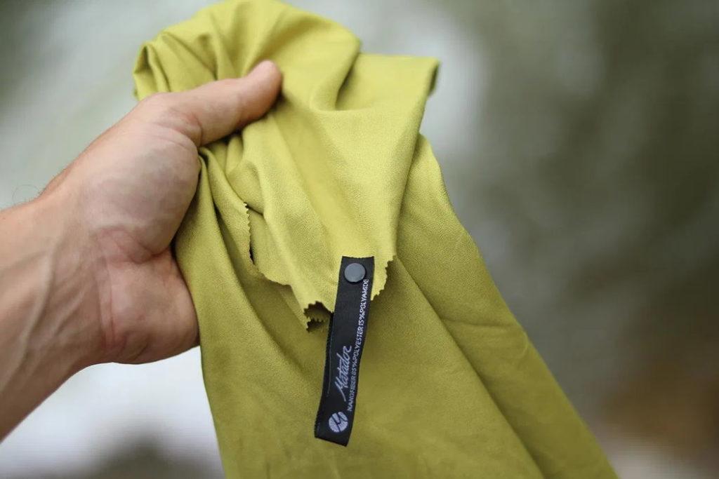 toalla de viaje matador nanodry material