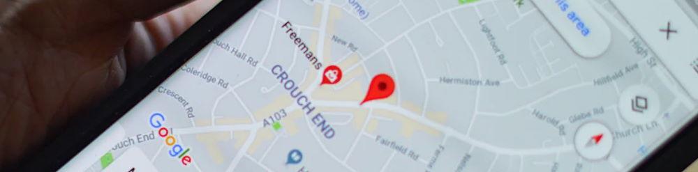 como usar google maps