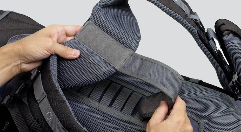 ajustar torso mochila para viajar