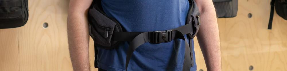 cinturon de cadera mochila de viaje