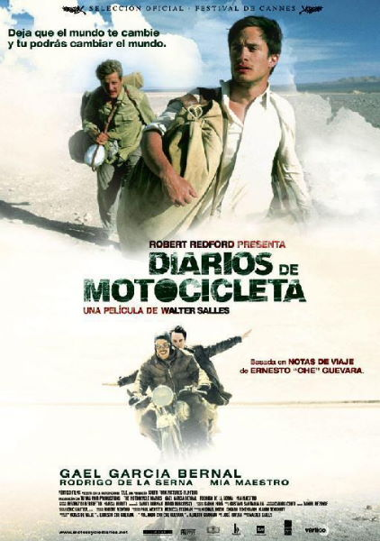 pelicula de viaje diarios de motocicleta