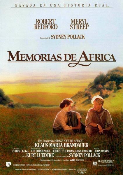 pelicula de viaje memorias de áfrica