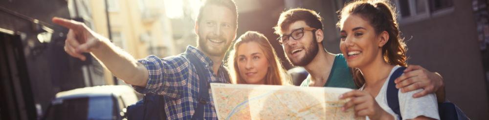 preguntar direcciones viaje