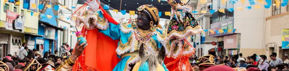mama negra ecuador