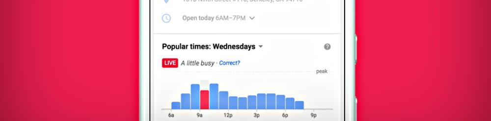 horarios populares en google